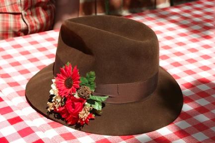 Auch Hüte sind voll im Trend