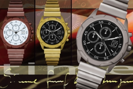 Eine Uhr für alle Fälle