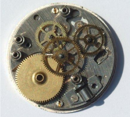Mechanische Armbanduhr - Aufbau