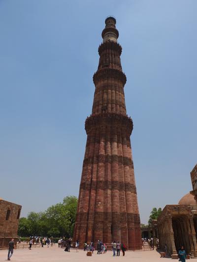 Qtub-Minar - Steinturm in Delhi
